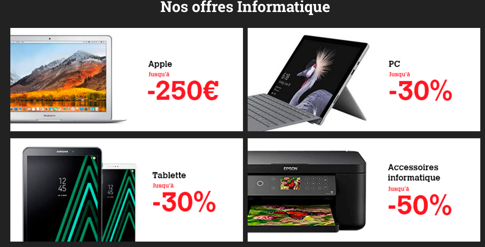 darty black friday informatique