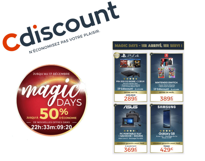 cdiscount magics days