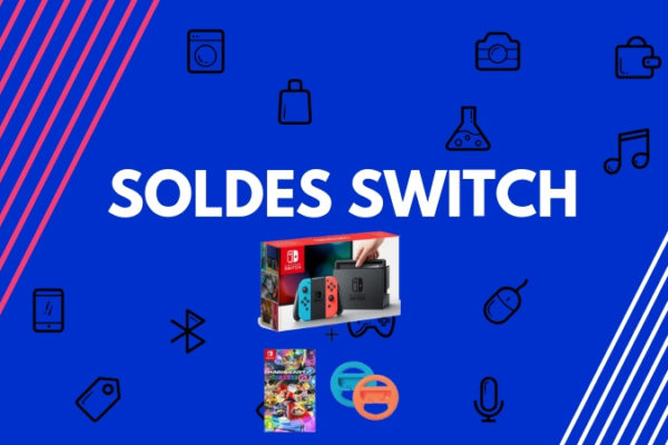 soldes nintendo switch pas cher