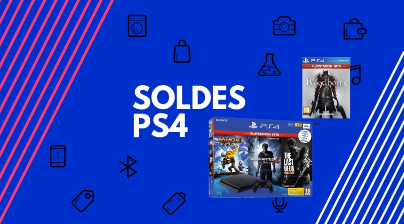 soldes ps4 pack