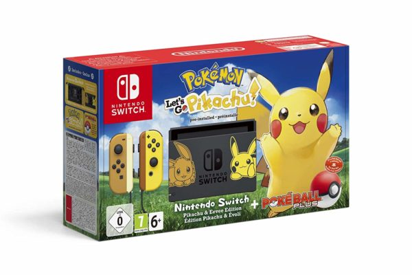 promo nintendo switch pikachu