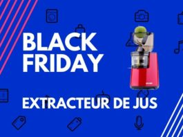black friday extracteur de jus