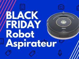 black friday aspirateur robot