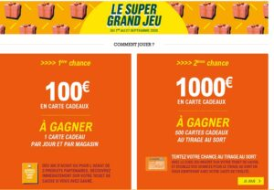 Super Grand jeu Leclerc