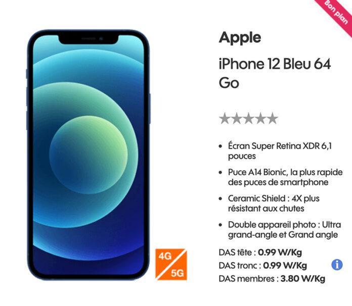Promo iphone 12 precommande