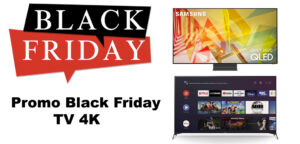 Black Friday TV 4K compataible PS5 et Xbox Series