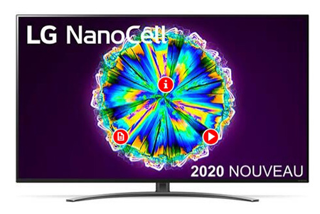 Promo TV 4K LG 55NANO86 2020 Hdmi 2.1 Black friday reduction
